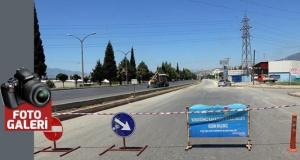 Büyükşehir'den servis yoluna asfalt