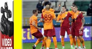 Galatasaray, Giresunspor'u mars etti..