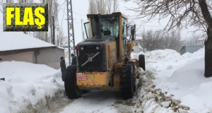 """Büyükşehir'de """"karla mücadele"""""""