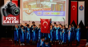 Çocuk Üniversitesi 2. Dönem Mezunları diplomalarını törenle aldı