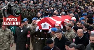 İdlib şehidi Uzman Onbaşı Saylak son yolculuğuna uğurlandı