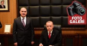 Cumhurbaşkanı, Kahramanmaraş'ta bayrama katıldı