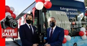 KMBŞB 5 yeni otobüsü teslim aldı...