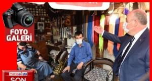 Vali Coşkun'dan tarihi Maraş Kapalı Çarşısı esnaflarına ziyaret