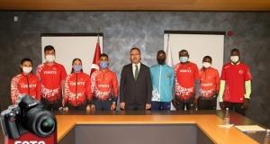 Bakan Kasapoğlu milli atletleri kabul etti