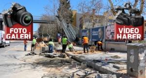 Pazarcık'ta üst yapı çalışmaları sürüyor