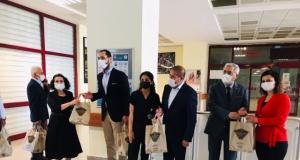 """Kervancıoğlu'ndan sağlıkçılar ile polislere """"bayram sürprizi"""""""
