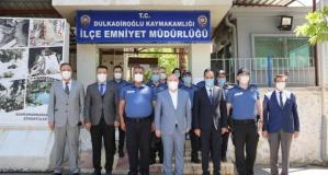Vali Coşkun'dan emniyet personeline bayram ziyareti…