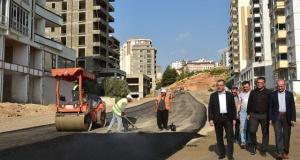 Büyükşehirden asfalt atağı