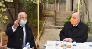 Vali Çoşkun'dan 46 yıllık evli çifte ziyaret