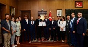 Kahramanmaraş ile Yiwu, Kardeş Şehir protokolü imzaladı!