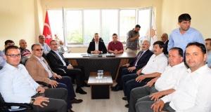 Güngör, Andırın'da AK Parti ve MHP'yi ziyaret etti!