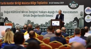 Tarihi Kentler Birliği, Malatya'da toplandı!