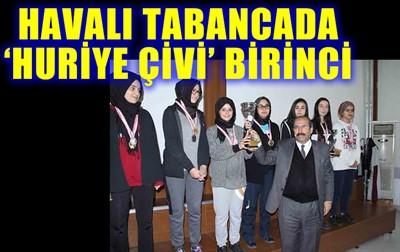 HAVALI TABANCADA 'HURİYE ÇİVİ' BİRİNCİ