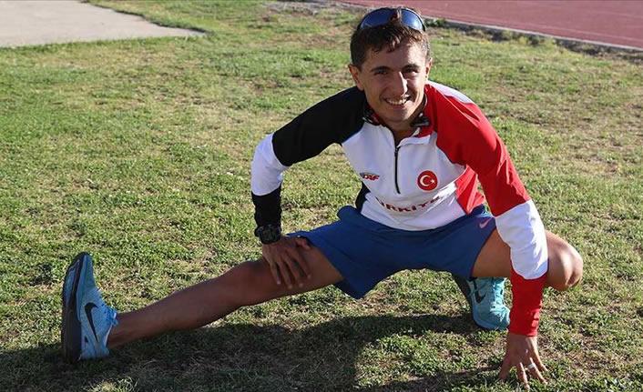 Milli atlet Salih Korkmaz olimpiyat vizesi aldı
