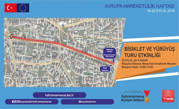 Büyükşehir Belediyesi, bisiklet sürme etkinliği düzenliyor