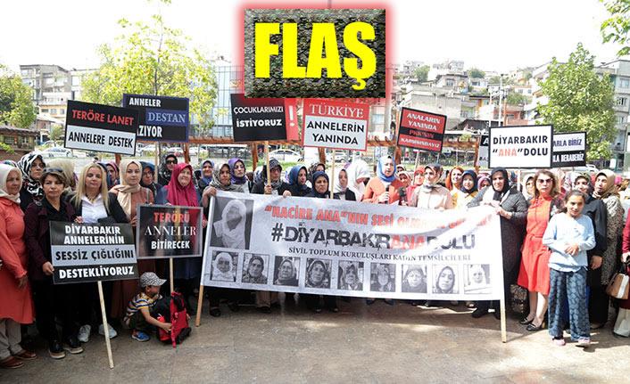 Diyarbakır annelerine Kahramanmaraş'tan destek!