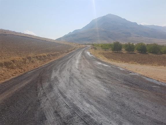 Gümüşdöven-Akpınar yolu asfaltlanıyor