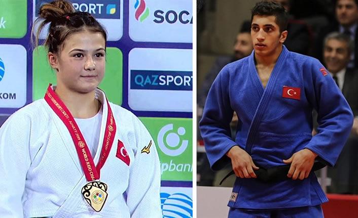 Judoda milli sporcularımızdan büyük başarı