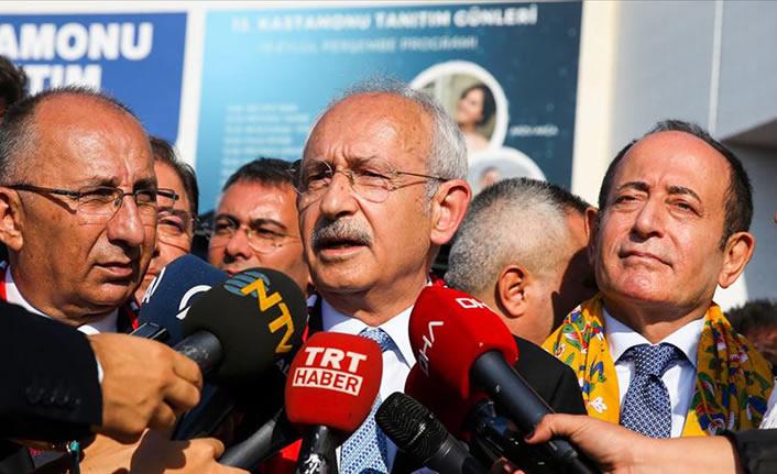 Kılıçdaroğlu: Adalet Bakanlığının Tamince itirazı önemli bir aşama