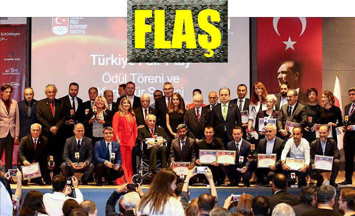 Polis memuruna TMOK Fair Play Ödülü
