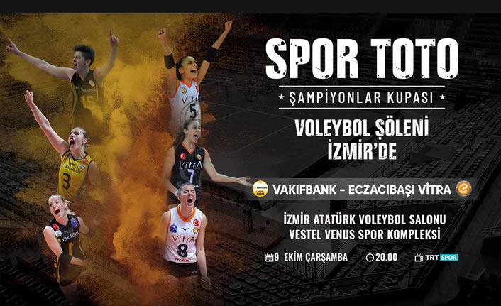 Voleybol Spor Toto Şampiyonlar Kupası'yla başlıyor