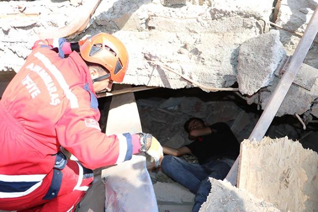 Kahramanmaraş merkezli ulusal deprem tatbikatı