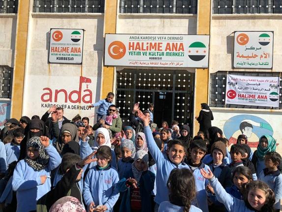 Suriyeli Türkmenler için yardım kampanyası