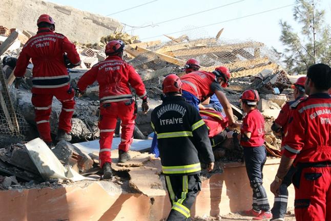 Ulusal Deprem Tatbikat'ta Büyükşehir gurur verdi!