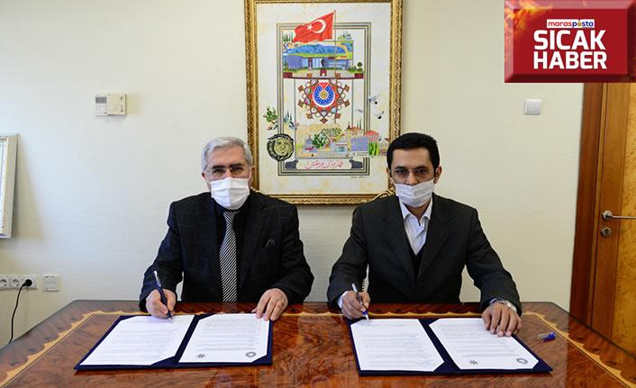 KSÜ ve TYB Şubesi işbirliği protokolü imzalandı