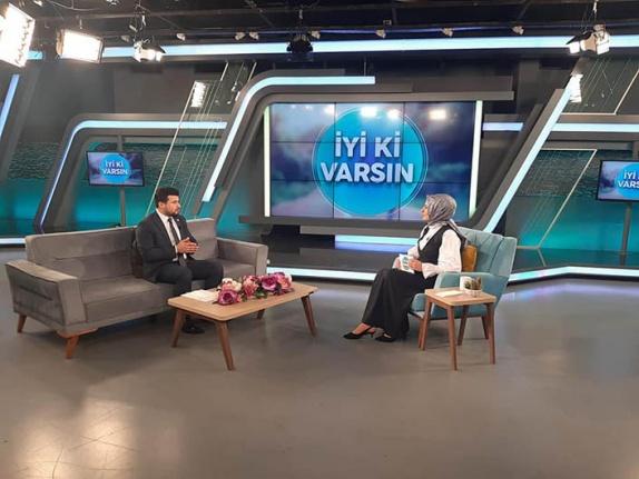 """TÜMKİAD İl Başkanı Eliaçık, Beyaz TV'de """"İyi Ki Varsın""""a katıldı"""