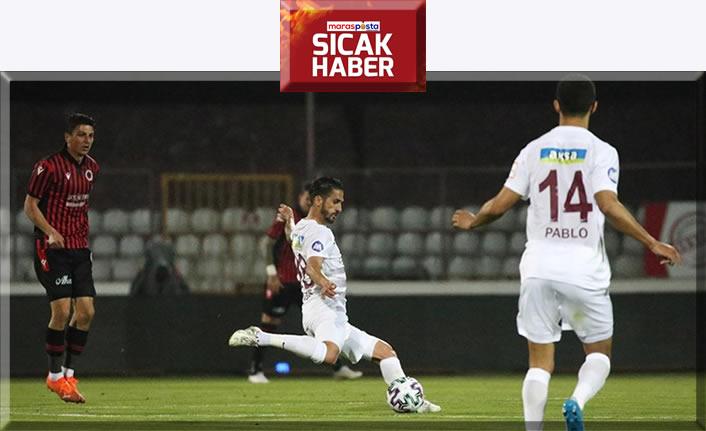 Atakaş Hatayspor 3 puanı 3 golle aldı