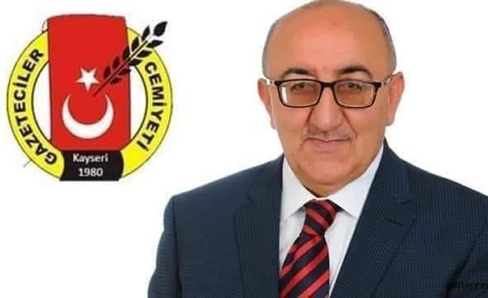 Kayseri Gazeteciler Cemiyeti Başkanı Altınkaya Hayatını kaybetti
