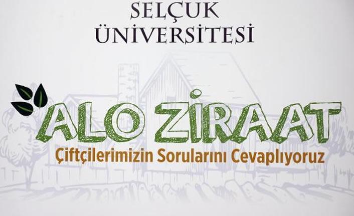"""Konya Selçuk Üniversitesi'nden """"Alo Ziraat Çiftçi Danışma Hattı"""""""