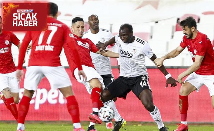 Lider Beşiktaş, Sivasspor ile berabere kaldı: 0-0