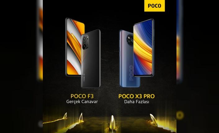 POCO F3 ve POCO X3 Pro satışa çıkıyor