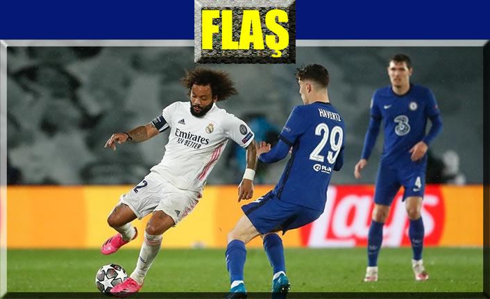 Real Madrid ile Chelsea 1-1 berabere kaldı