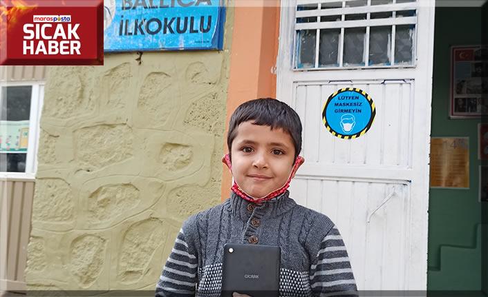 Yeni Dünya Kampanyası'nda 2 bin 53 çocuk tabletlerine kavuştu