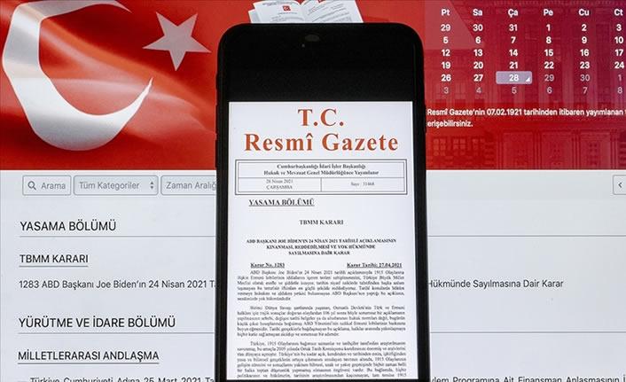 Esnafa hibe desteğine ilişkin karar Resmi Gazete'de