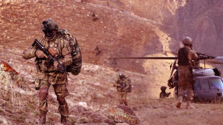 Pençe operasyonlarında 44 terörist etkisiz hale getirildi..