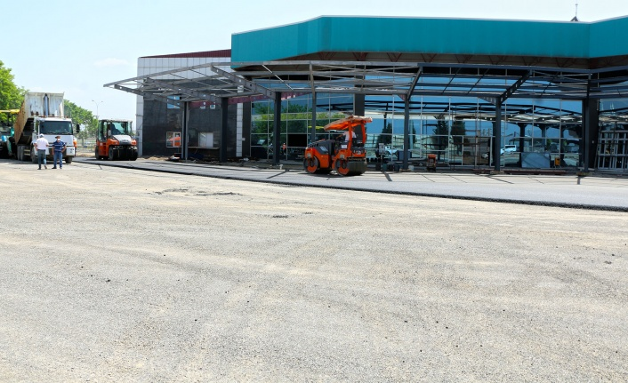 Terminal modern görünüme kavuşuyor