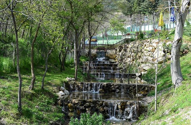 """Doğa harikası """"Cevizli Park"""" açıldı"""