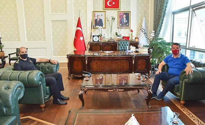 Salim Cebeloğlu'dan, Osman Okumuş'a ziyaret