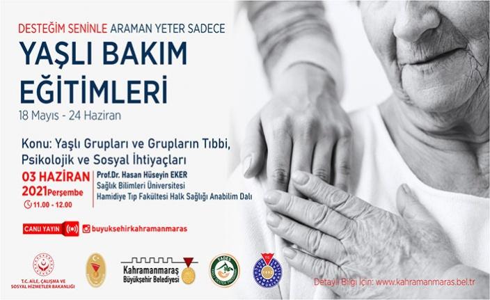 'Yaşlıların Tıbbi, Psikolojik ve Sosyal İhtiyaçları'