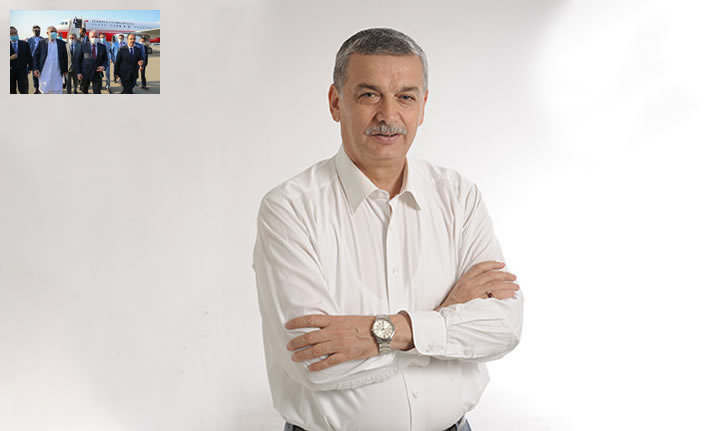 AK Parti Kahramanmaraş Milletvekili Celalettin Güvenç Azerbaycan'a gitti