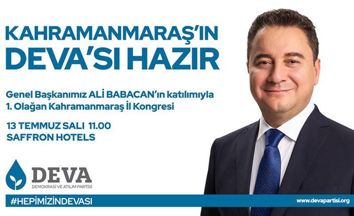 Ali Babacan, yarın geliyor
