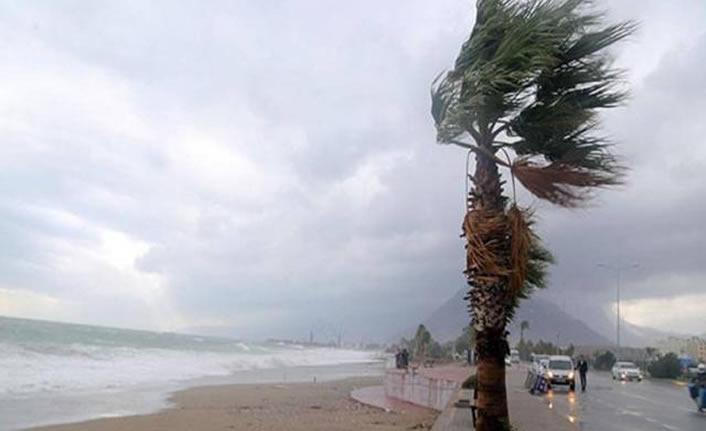 Batı ve Doğu Akdeniz için fırtına uyarısı