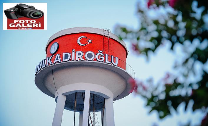 """Dulkadiroğlu'ndan Erkenez'e """"saat kulesi"""""""