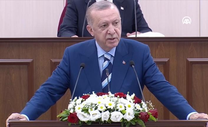 Erdoğan, KKTC Meclisi'nde konuşuyor