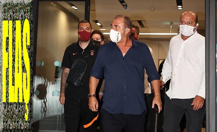 Galatasaray, oynamadan yurda döndü